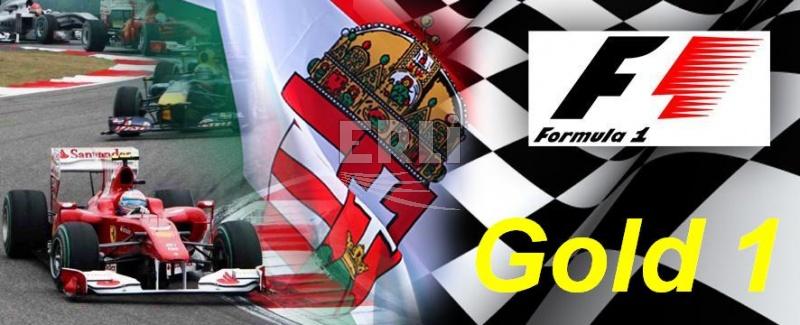 Vstupenka F1 - Gold 1 Víkend