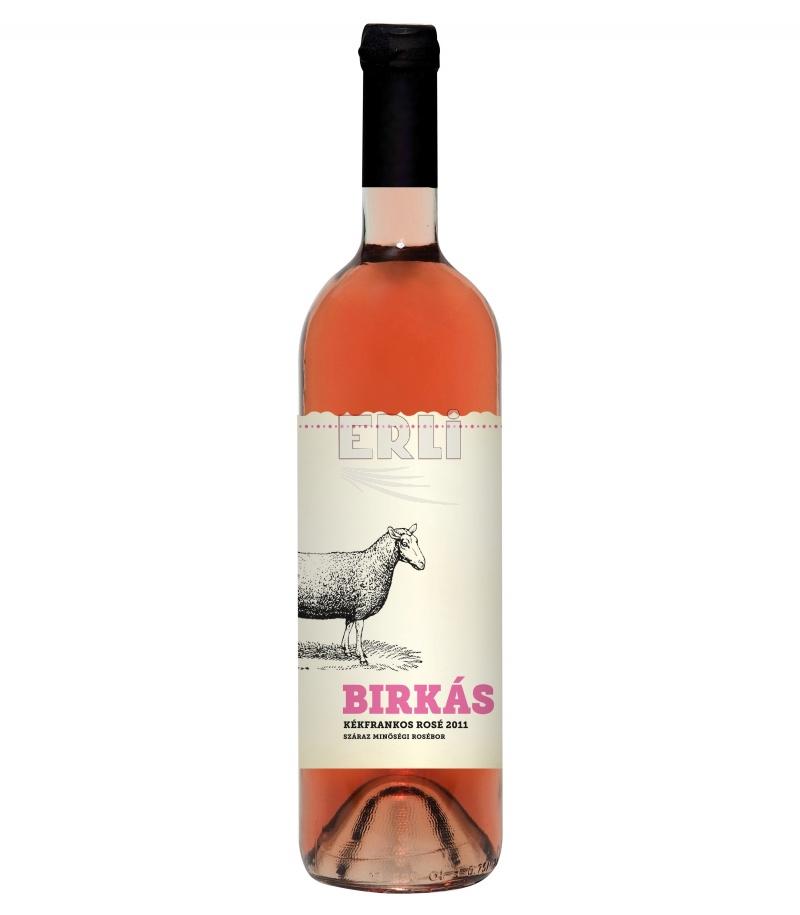 Birkás Kunsági Kékfrankos Rosé růžové suché