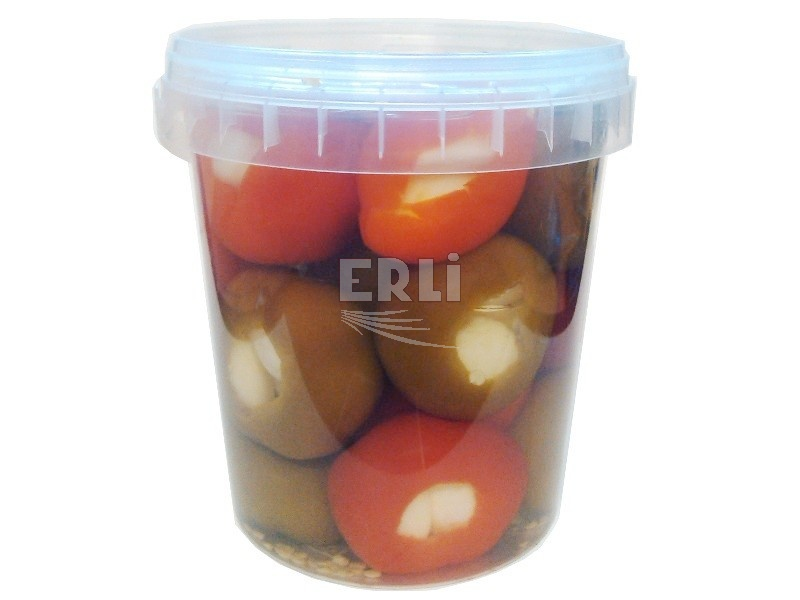 Třešňové papriky plněné česnekem 500g