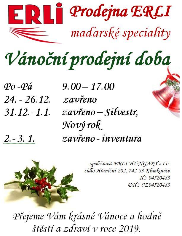 Vánoční prodejní doba a8e7e8bc681